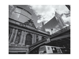 Grand Central Station Chrysler Bus Photographic Print by Henri Silberman