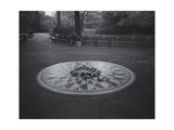 Central Park Imagine Memorial Morning Photographic Print by Henri Silberman