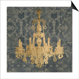 Gilt Chandelier II Posters by Jennifer Goldberger