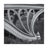 Central Park Gothic Bridge Arch Detail Photographic Print by Henri Silberman