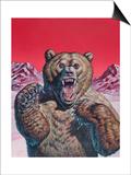 Cave Bear (Ursus Spelaeus), Pleistocene Epoch Prints