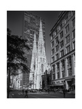 St. Patrick's Fifth Avenue Morning Photographic Print by Henri Silberman