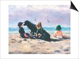 Beach Buddies Prints by Vickie Wade