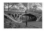 Central Park Gothic Bridge Photographic Print by Henri Silberman