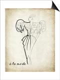 Couture Concepts I Posters by Nicholas Biscardi