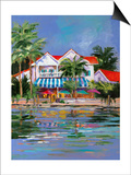 Beach Resort I Prints by Jane Slivka