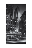 Radio City Cab Panorama Photographic Print by Henri Silberman