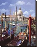 Chiesa Della Salute Stretched Canvas Print by Guido Borelli