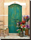 Fleuriste, Provence Stretched Canvas Print by Alan Klug