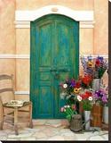 Fleuriste, Provence Stretched Canvas Print by Alan Klug