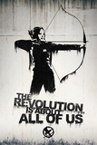 Hunger Games- Graffiti Poster