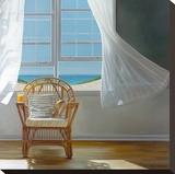 Tea Time Stretched Canvas Print by Karen Hollingsworth