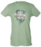 Juniors: Dave Matthews Band- Flowers T-Shirt