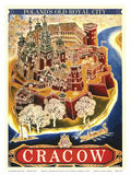 Cracow - Poland's Old Royal City Prints by Witold Chomicz