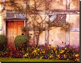Shakespeare's House Stretched Canvas Print by Alan Klug