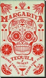 Margarita Recipe Stretched Canvas Print by  Fig & Melon Press