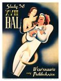 Warsaw, Poland Poster tekijänä S. Malewicz