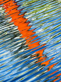 Diagonal Streaks Photographic Print by Adrian Campfield
