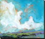 Sky Four-Massif Stretched Canvas Print by Paul Bailey