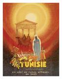 Carthage Tunisie (Tunisia) Giclée-tryk af Roland (Robert) Olivier