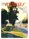 Versailles, France Poster by Rene Raymond Louis Aubert