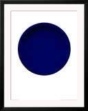 Blue Disk, c.1957 (IKB54) Prints by Yves Klein