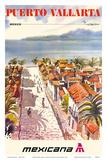Puerto Vallarta, Mexico - Mexicana Airlines Prints