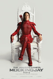 The Hunger Games- Mockingjay Part 2 Throne Plakát