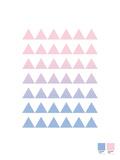 三角形 ジクレープリント : Brett Wilson