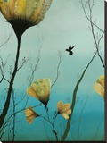 Hummingbird 2012 Stretched Canvas Print by Ivy Jacobsen