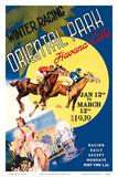 Havana, Cuba - Winter Horse Racing, Oriental Park Posters