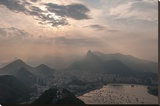 Sugar Loaf, Rio de Janeiro, Brazil Stretched Canvas Print by Richard Silver