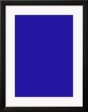 Untitled, Blue Monochrome, c.1961 (IKB73) Art by Yves Klein
