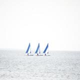 Tre barche Stampa fotografica di Viviane Fedieu Daniel