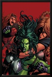 She-Hulk No.36 Cover: She-Hulk Prints by Mike Deodato