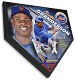 Curtis Granderson Home Plate Plaque Wall Sign