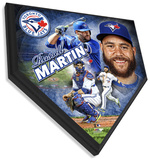 Russell Martin Home Plate Plaque Wall Sign