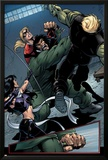 Young Avengers No.8 Group: Mr. Hyde, Bishop, Kate, Hulkling and Young Avengers Posters by Andrea Di Vito