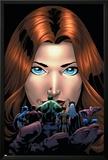 Marvel Adventures Avengers No.20 Cover: Giant-Girl Print by Kirk Leonard