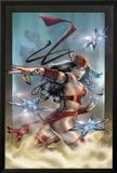Elektra No.32 Cover: Elektra Prints by Tom Fleming