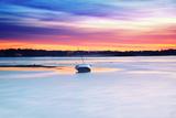 Boat Asleep Stampa fotografica di Viviane Fedieu Daniel