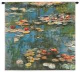 Water Lilies (Nymph), c.1916 Wall Tapestry - Small Wall Tapestry by Claude Monet