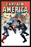 Captain America No.14 Cover: Captain America and Bucky Posters by Steve Epting