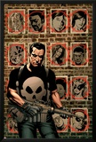 House Of M: Avengers 3 Cover: Punisher Prints by Mike Perkins