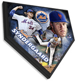 Noah Syndergaard Home Plate Plaque Wall Sign