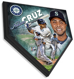 Nelson Cruz Home Plate Plaque Wall Sign