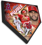 Albert Pujols Home Plate Plaque Wall Sign
