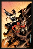 WWH Aftersmash: Warbound No.5 Cover: Elloe, Hiroim, Korg and No-Name Prints by Jim Cheung
