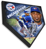 Edwin Encarnacion Home Plate Plaque Wall Sign