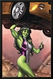 She-Hulk No.2 Cover: She-Hulk Posters by Adi Granov
